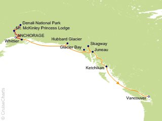 10 Night Denali Explorer - Tour AB3 from Anchorage from Anchorage