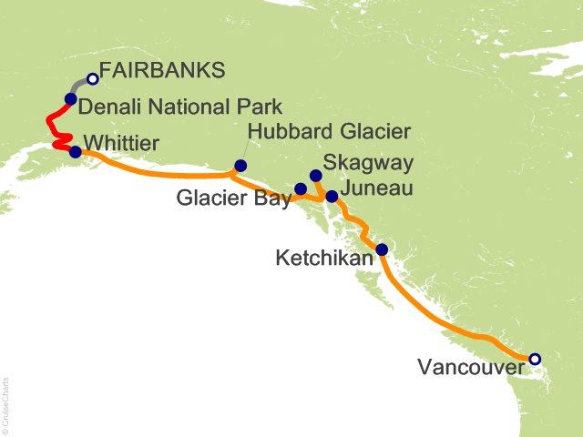 11 Night Denali Explorer - Tour GB4 from Fairbanks