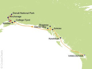 11 Night Denali Explorer - Tour EA4 from Vancouver from Vancouver