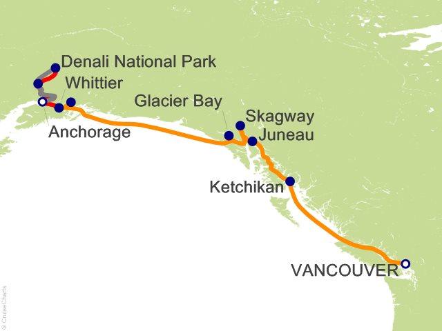 11 Night Denali Explorer - Tour EA4 from Vancouver