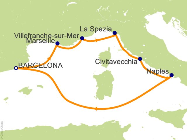 7 Night Western Mediterranean Cruise On Freedom Of The Seas From Barcelona Sa