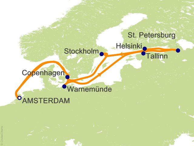 Celebrity Baltic Cruise, Scandinavia and Russia ...