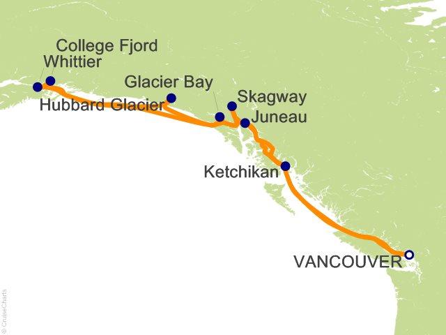 14 Night Voyage of the Glaciers Grand Adventure Cruise
