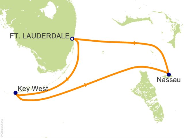 4 Night Key West and Nassau Cruise from Fort Lauderdale