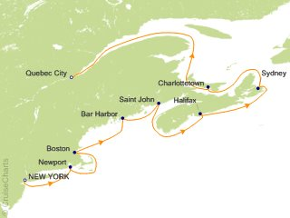 10 Night Classic Canada and New England Cruise from New York