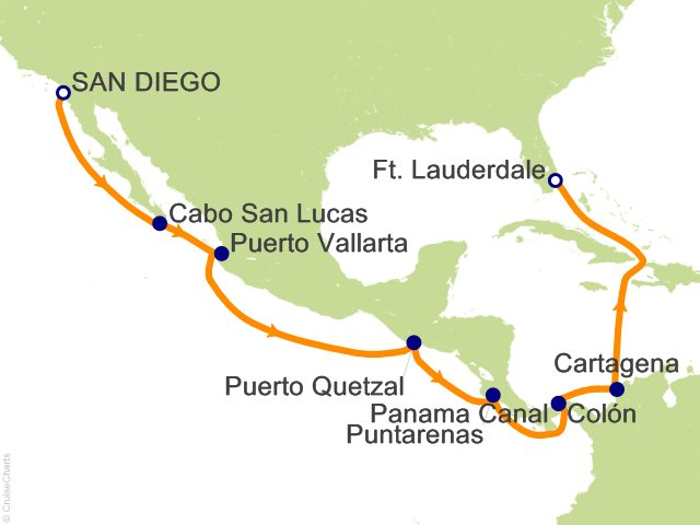 Panama Canal Itinerary Review - Best Cruise Deals and ...