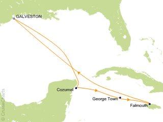 7 Night Western Caribbean Cruise from Galveston
