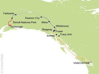 11 Night Yukon and Double Denali - Y4C from Vancouver from Vancouver
