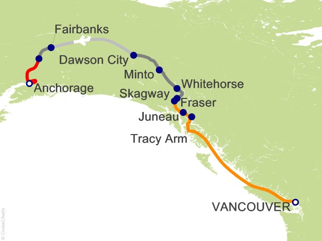 11 Night Yukon and Double Denali - Y4C from Vancouver