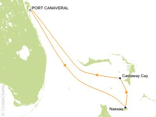 3 Night Bahamas from Port Canaveral Cruise from Port Canaveral