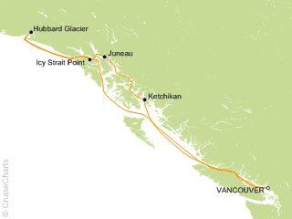 7 Night Alaska Hubbard Glacier Cruise from Vancouver