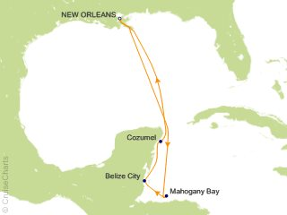 Carnival Caribbean Cruise, 7 Nights From New Orleans ...