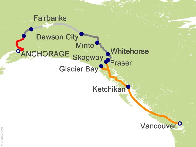 12 Night Yukon and Double Denali - Y4L from Anchorage