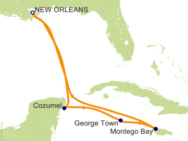 New Orleans Cruise Port Map Best Cruise 2017