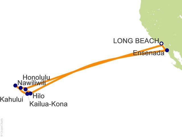15 Night Hawaii Cruise from Long Beach