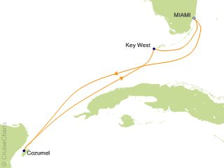 5 Night Mexico and Key West Cruise from Miami