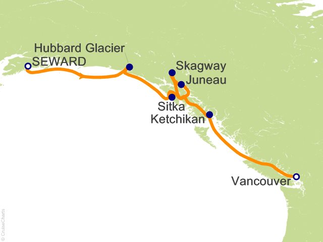 how to get from anchorage to seward