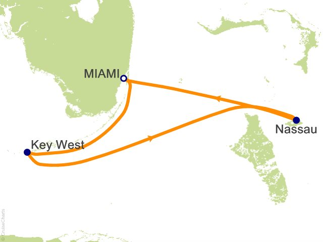 4 Night Key West and Nassau Cruise from Miami