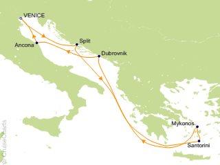 7 Night Mediterranean Cruise from Venice
