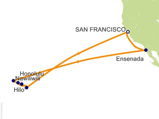 15 Night Hawaiian Islands Cruise from San Francisco