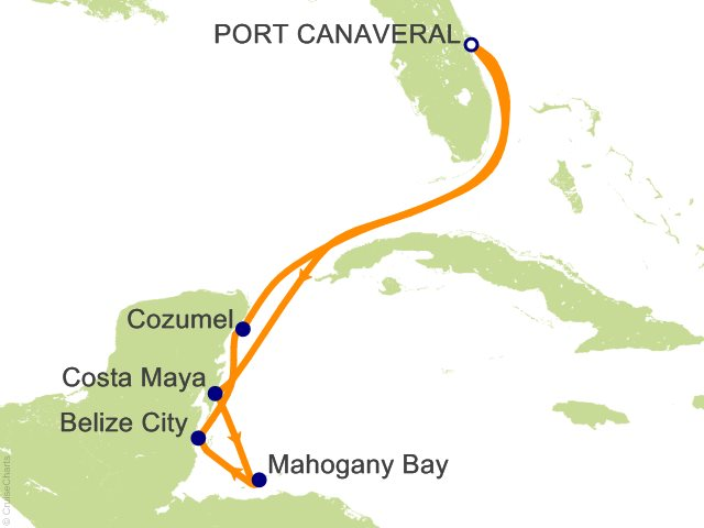 7 Night Western Caribbean Cruise on Carnival Magic from Port ... on carnival breeze map, carnival port map, carnival victory map, carnival paradise map, splendour of the seas map, the majesty of seas map, carnival sunshine map, carnival inspiration map, jewel of the seas map, carnival dream map, carnival pride map, carnival miracle map, carnival splendor map, carnival freedom map, caribbean magic map, carnival liberty itinerary, carnival western caribbean map, carnival sensation map, carnival deck map, carnival elation map,