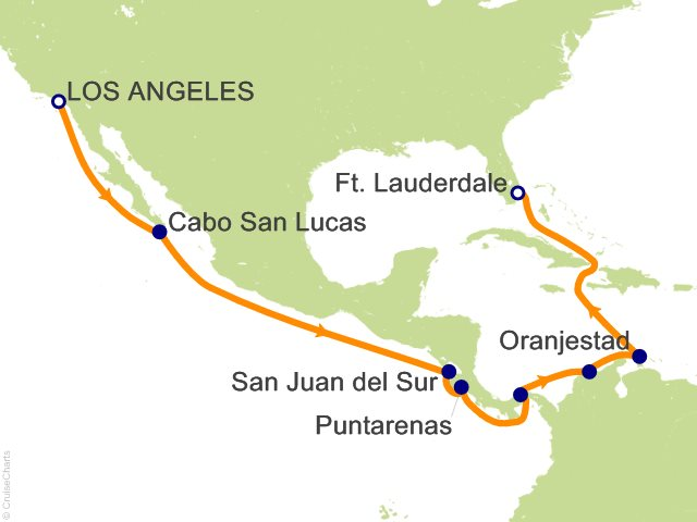 17 Night Panama Canal Full Transit Cruise On Pacific Princess From Los Angeles Sailing May 11