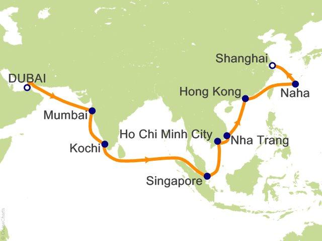 World map vietnam japan mangdienthoai com and prtty me at world map 21 night united arab emirates india singapore vietnam japan chin cruise from dubai gumiabroncs Images