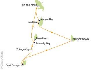 Christmas Caribbean Cruises 2020 Star Clippers Caribbean Cruise, 7 Nights From Bridgetown, Royal