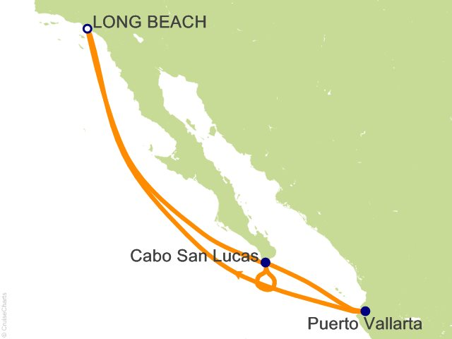 7 Night Mexican Riviera Cruise On Carnival Miracle From