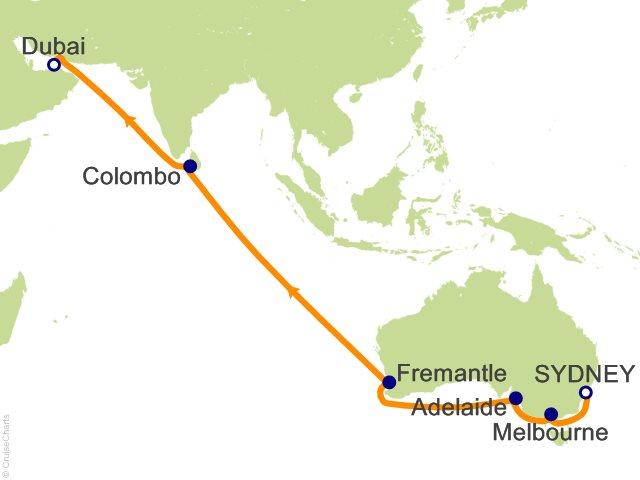 20 night world cruise segment sydney to dubai cruise on sea princess 20 night world cruise segment sydney to dubai cruise from sydney gumiabroncs Image collections
