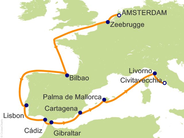 Celebrity Cruises Mediterranean Cruises - The Cruise Web