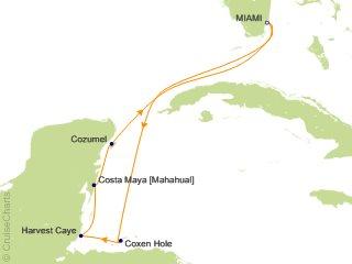 ca38f2000b 7 Night Western Caribbean from Miami Cruise