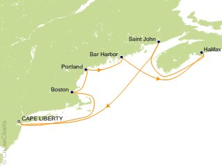 Royal Caribbean Canada / New England Cruise, 9 Nights From