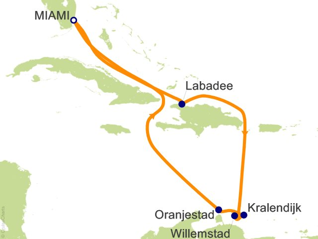 9 Night Southern Caribbean Cruise on Navigator of the Seas from