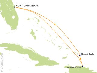 5 Night Eastern Caribbean from Port Canaveral (Orlando) Cruise from Port Canaveral