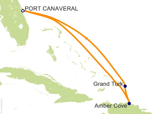 5 Night Eastern Caribbean from Port Canaveral (Orlando) Cruise