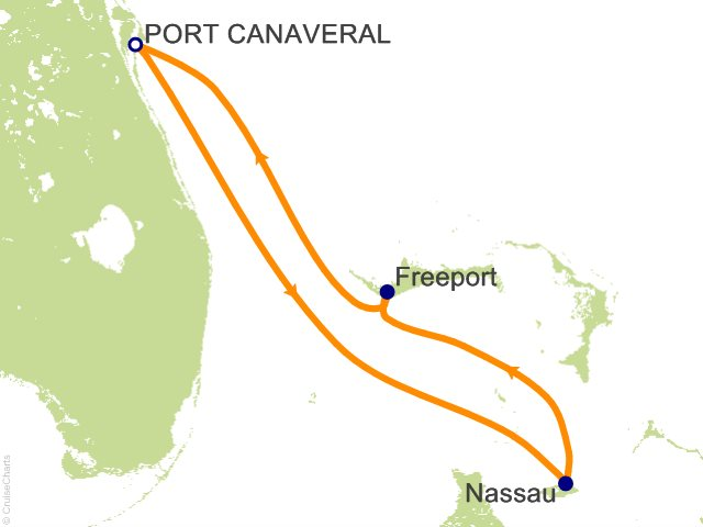 4 Night The Bahamas Cruise from Port Canaveral