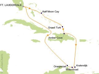 Southern Caribbean Cruise 2020.Holland America Caribbean Cruise 10 Nights From Fort