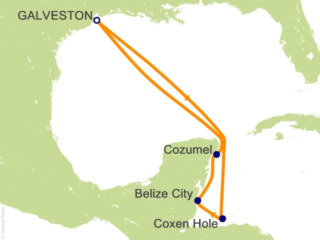 7 Night Western Caribbean Cruise On Liberty Of The Seas From Galveston Sailing January 8 2017