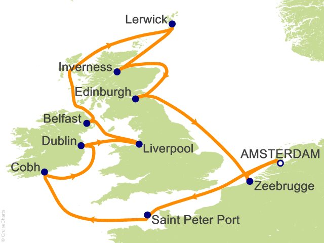 British Isles Celebrity Cruises - Book Your Cruise Online
