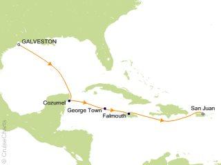 Cruise From Galveston 2020.Disney Caribbean Cruise 6 Nights From Galveston Disney