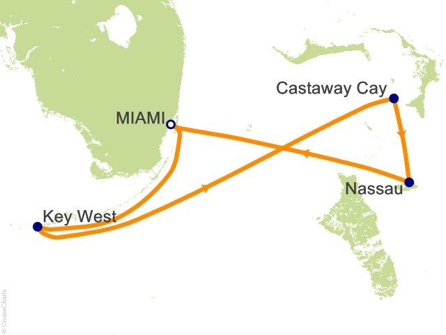 5 Night Bahamas with Marvel Day at Sea Cruise