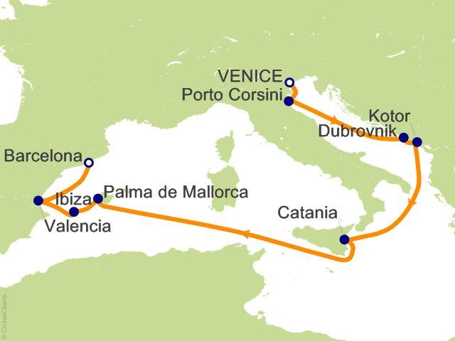 Mediterranean Cruise Maps - TripSavvy