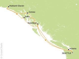 7 Night Alaskan Explorer Cruise from Seattle