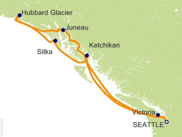 7 Night Alaskan Explorer Cruise