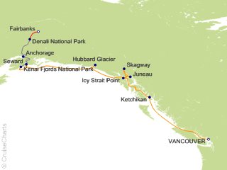 12 Night The Great National Parks Expedition 6A from Vancouver
