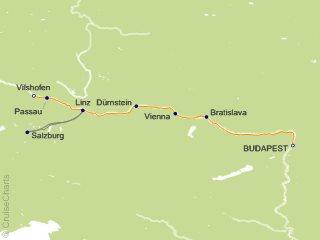 Tauck Tours Europe Cruise, 7 Nights From Budapest, Treasures, June