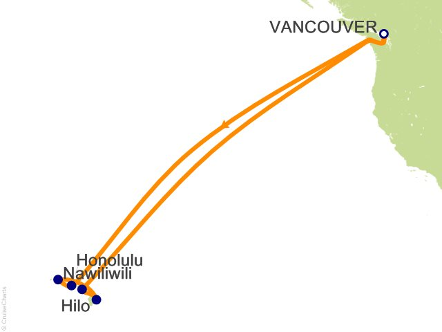 15 Night Hawaiian Islands Cruise from Vancouver
