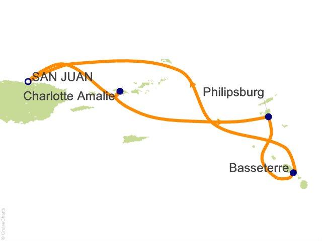 5 Night Southern Caribbean Cruise from San Juan