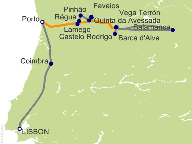 9 Night Portugals River of Gold Cruise and Land Tour